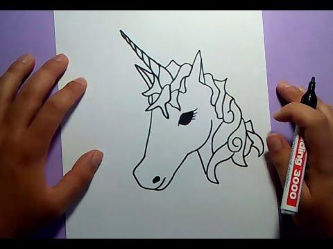 a7626bbbc5835 Como dibujar un unicornio paso a paso