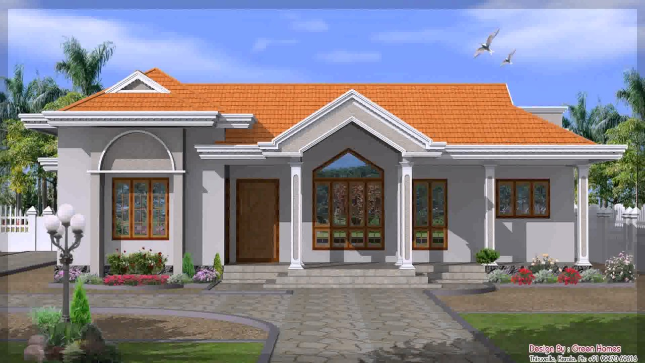 Single Story House Design In India