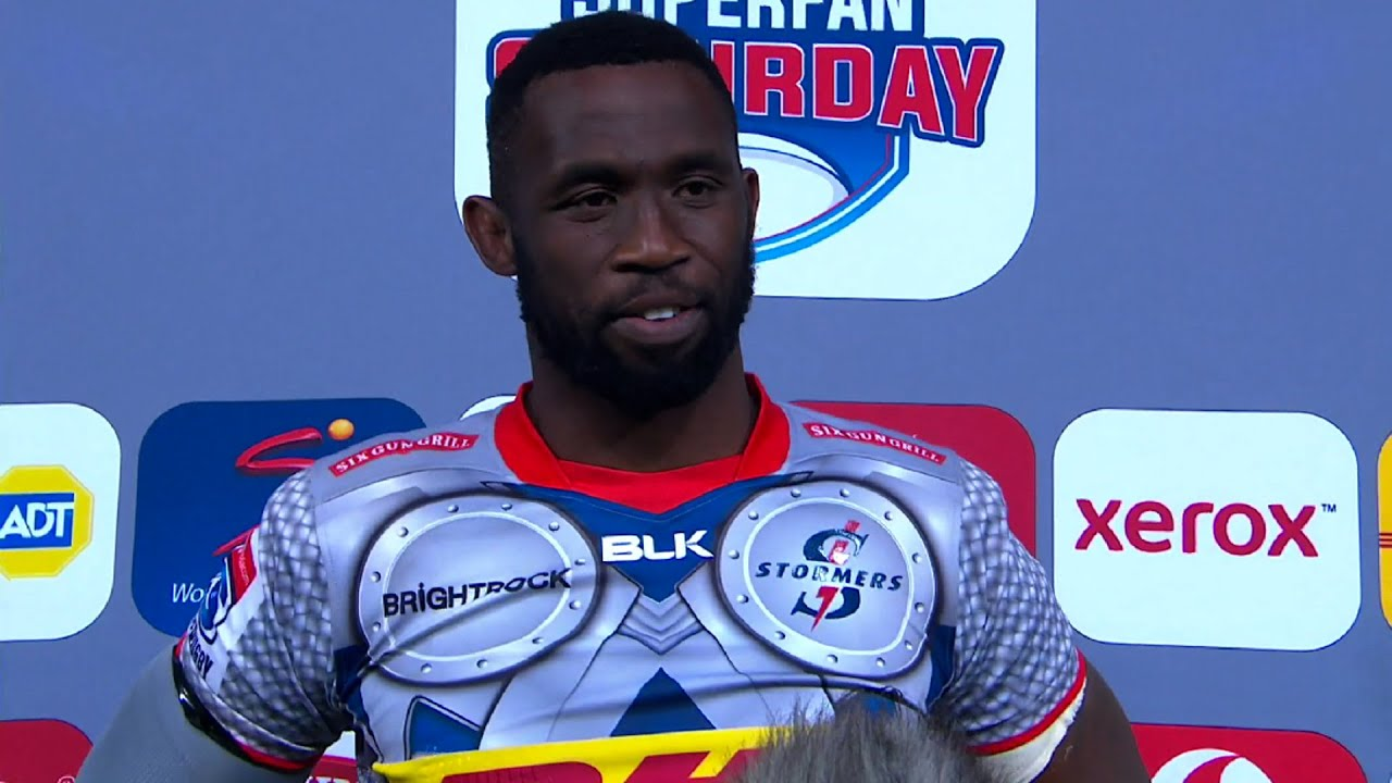 Vodacom SuperFan Saturday | Emirates Lions v DHL Stormers | Post-match interview with Siya Kolisi