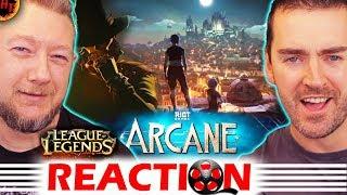 Arcane: Animated Series Announcement REACTION - League Of Legends ( LoL )