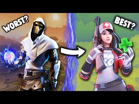 RANKING *EVERY* CHAPTER 2 SKIN FROM WORST TO BEST!!! (Fortnite Battle Royale)