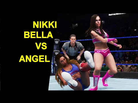WWE 2K20 Nikki Bella vs Angel - Extreme KO