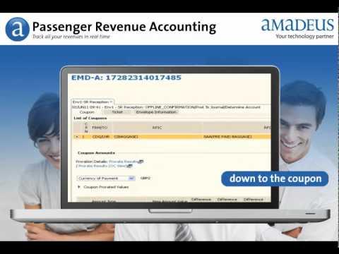 Amadeus Passenger Revenue Accounting