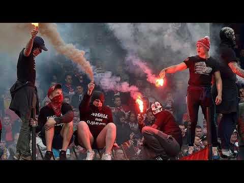 Около 200 фанатов «Спартака» задержаны в Петербурге