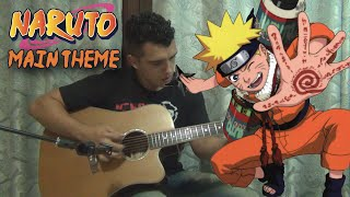 Main Theme - Naruto   Solo Acoustic Guitar