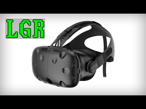LGR - An HTC Vive Ramble: Is The Future Here Yet?
