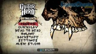 Guitar Hero Metallica CHEAT CODES (xbox360)