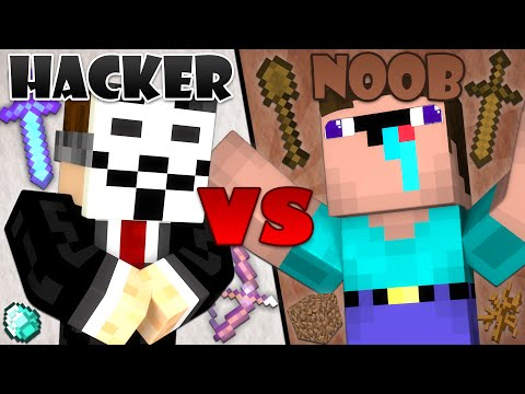 Thumbnail: Hacker vs. Noob - Minecraft