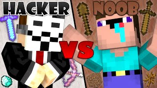 Hacker vs. Noob - Minecraft