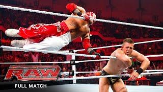 FULL MATCH Rey Mysterio vs. The Miz - WWE Title Match Raw, July 25, 2011