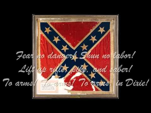 Confederate Song - To Arms In Dixie (with lyrics)