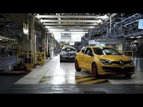Mégane R.S. 275 Trophy-R - making of in Palencia