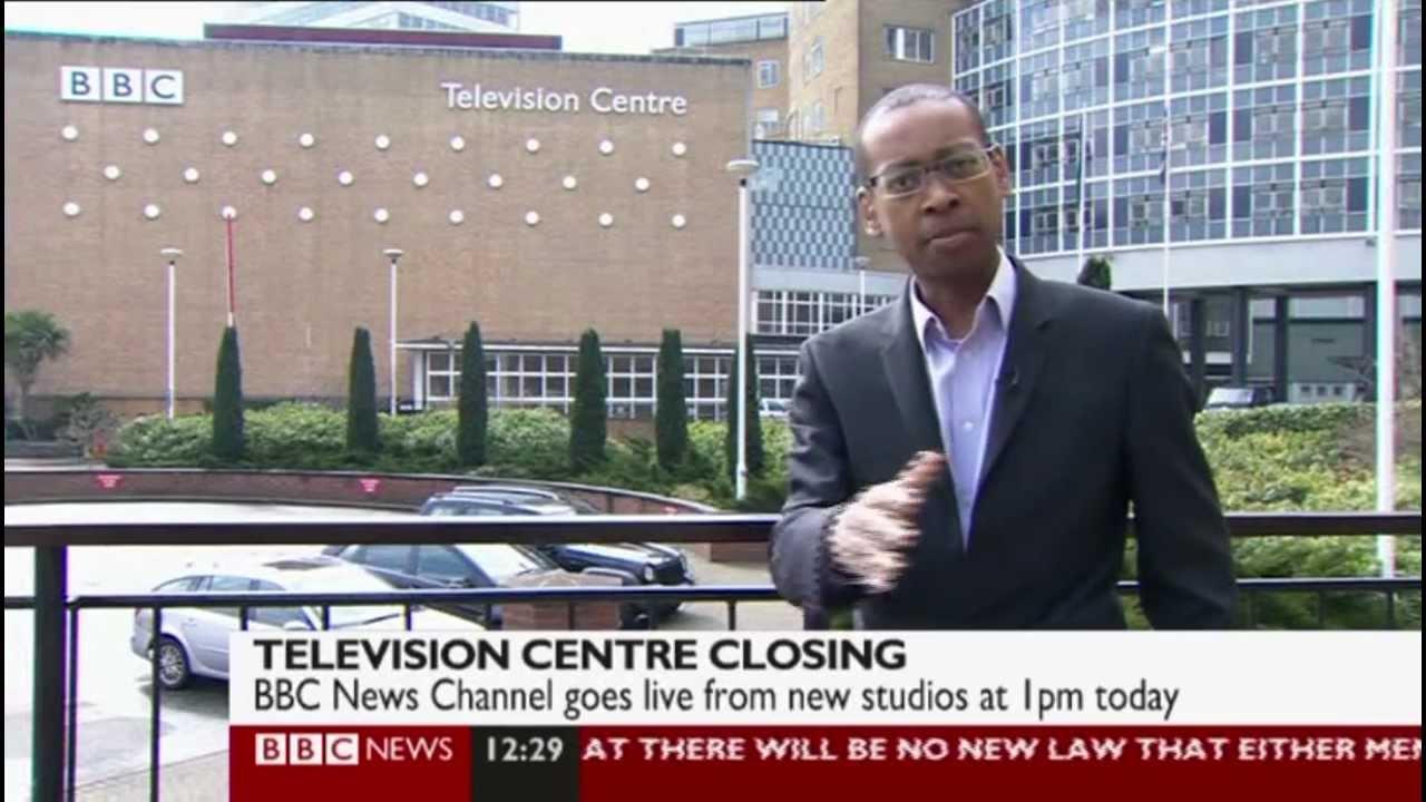 BBC News Photo: The Last Moments At BBC Television