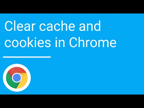 clear cache and cookies in google chrome youtube