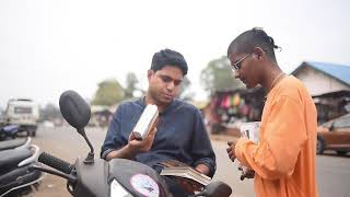 Srila Prabhupada's Book distribution and Harinam Sankirtan in Gujarat.