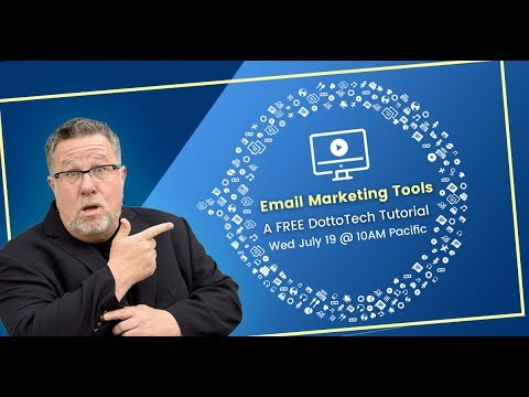 Choosing an Email Marketing Service - Webinar Replay, online for 48 hours.
