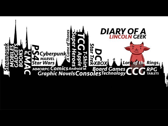 Diary of a Lincoln Geek, Let's Talk Board Games..  Premiere Episode 1
