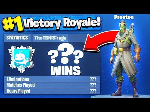 TBNRfrags Fortnite Stats, K/D Ratio & Win Percentage - Fortnite: Battle Royale!