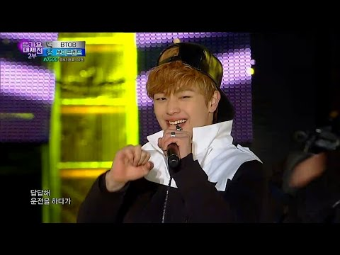 【TVPP】BTOB - Beep Beep, 비투비- 뛰뛰빵빵 @ 2014 KMF Live