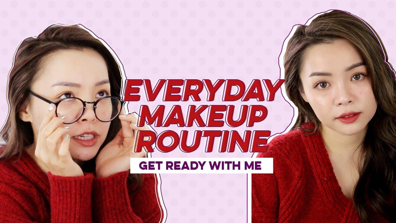 """Makeup """"Sương Sương"""" Nhanh Gọn Hàng Ngày ♡ My Everyday Makeup Routine ♡ TrinhPhamm"""