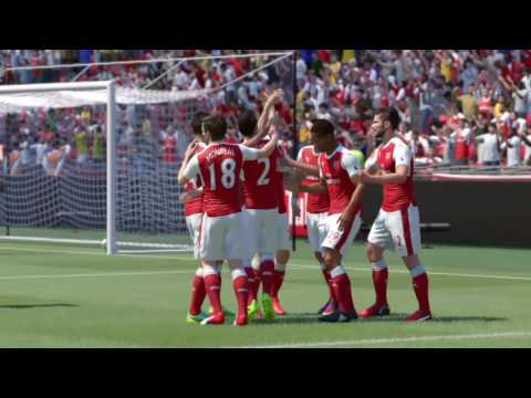 "FIFA17 The Journey ""FA Cup Final"" Alex Hunter Winning Goal"