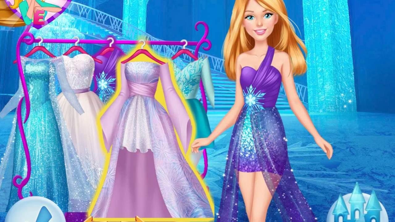 เกมส์บาร์บี้สุดสวยมีเสน่ห์ ไปเที่ยว  Barbie's Trip To Arendelle