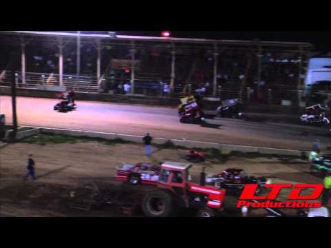 """BOSS Micro's from Belle Clair Speedway in Belleville IL """"A"""" Feature on Aug 28th"""