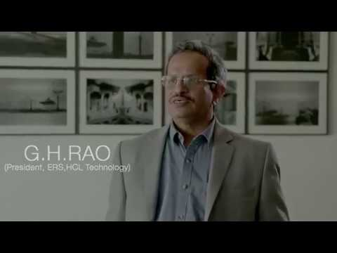 G.H.Rao, President, ERS, HCL Technology speaks about HCL Grant 2017