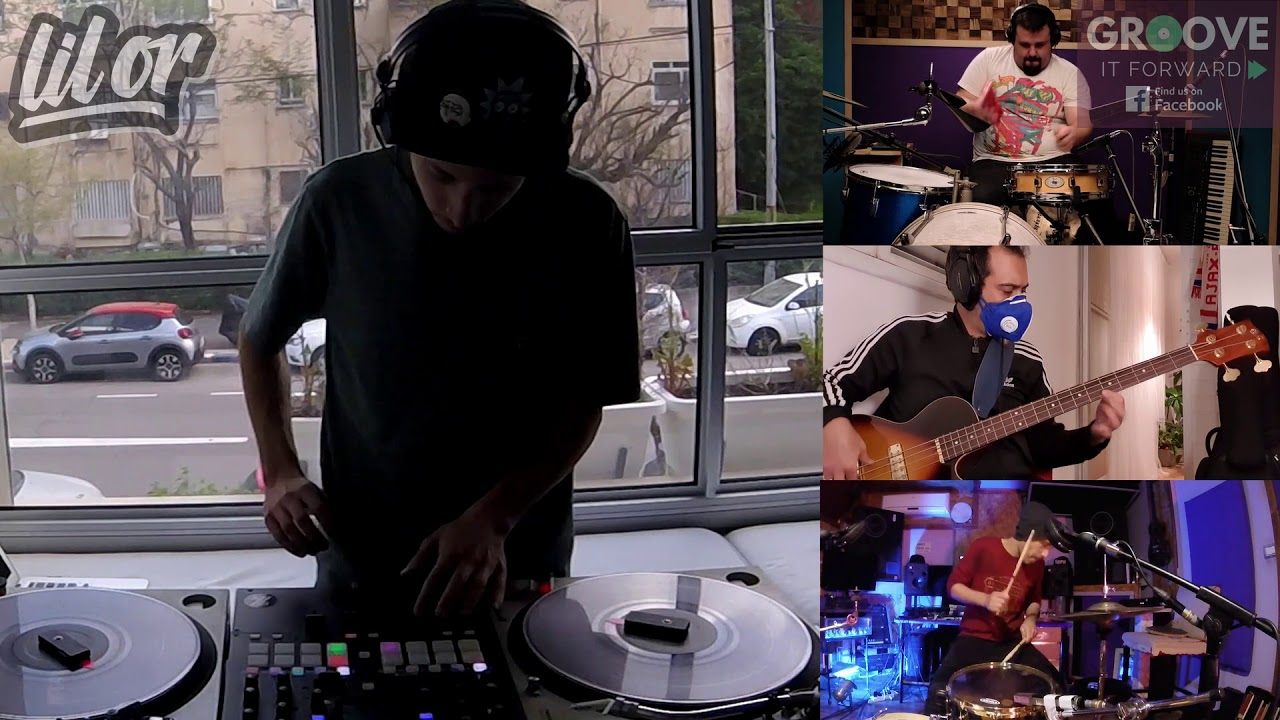 Groove It Forward (GROVID-19 2020 Music Challenge) -  DJ Lil Or (Or Gilad)