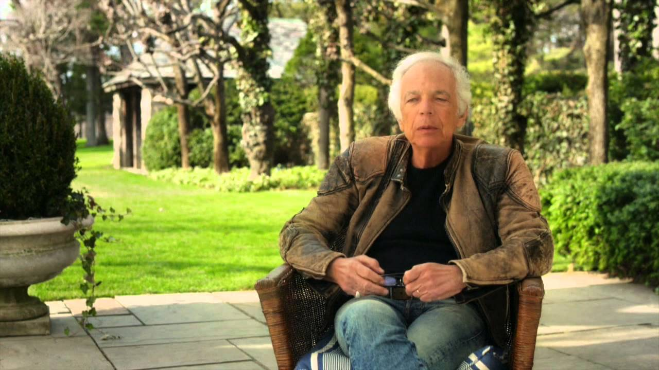 Interview with American Fashion Designer Ralph Lauren