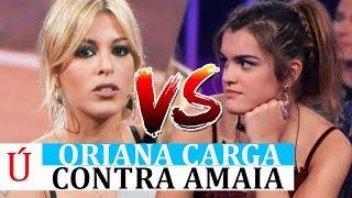 Oriana Marzoli carga contra Amaia Romero y cuestiona su feminismo tras Operación Triunfo y Los Goya