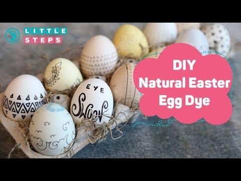 DIY Natural Easter Egg Dye  - Easy Recipe For Kids