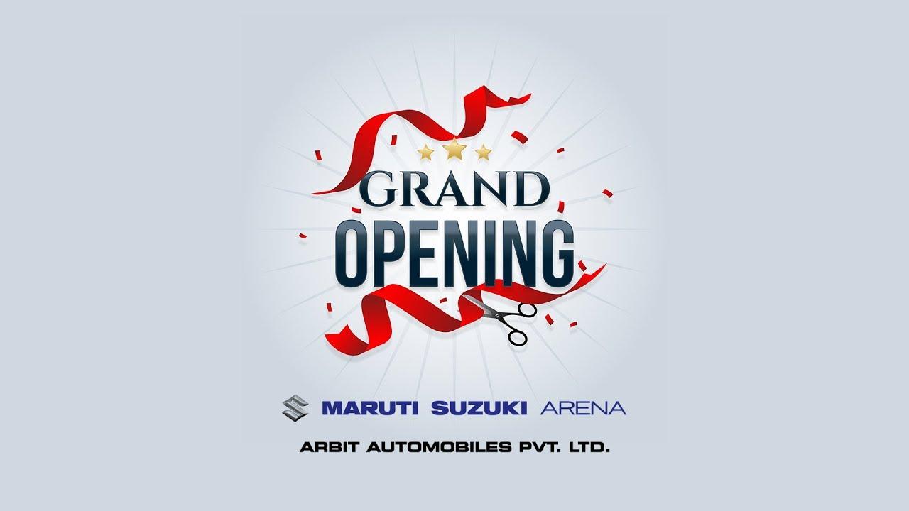 showroom inauguration invitation video grand opening invitation video maruti suzuki