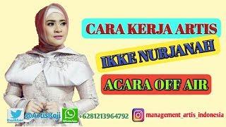Artis Penyanyi Dangdut Ikke Nurjanah Show Panggung Off Air