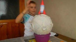 Поделка ко дню космонавтики. Делаем ракету. Make a rocket.(, 2016-04-04T04:14:59.000Z)