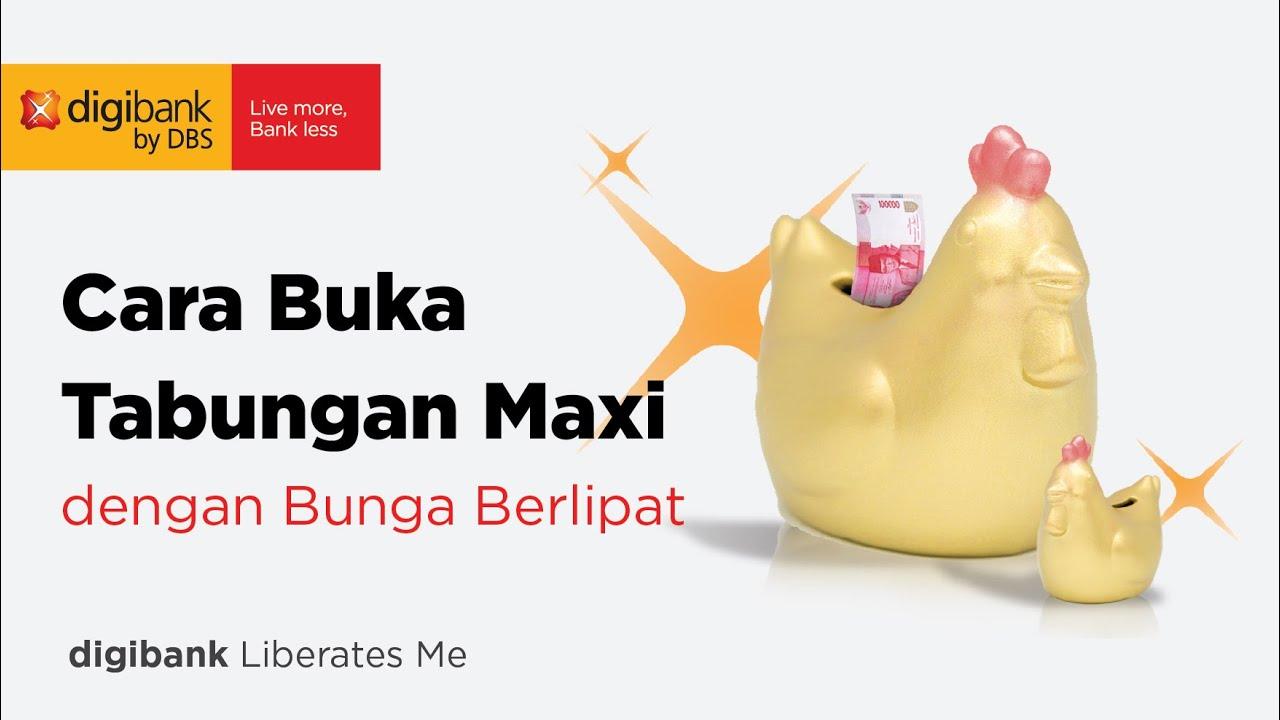 Tabungan Maxi - Bunga 3% Cair Setiap Saat!