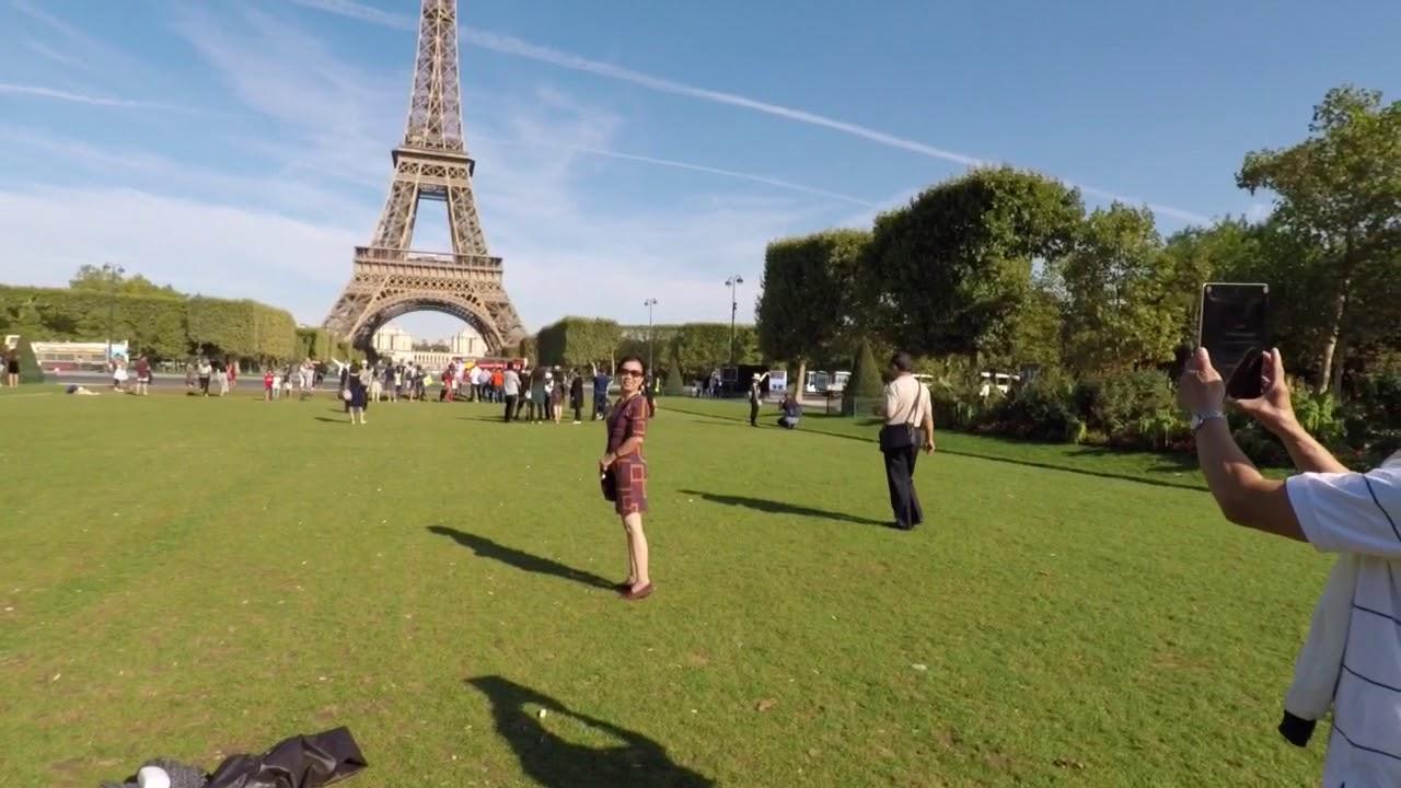 Paris phần 1 – đi thăm tháp Eiffel