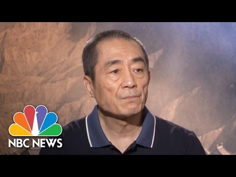 Zhang Yimou: 'The Great Wall' Symbolizes Future Collaborations Between US, China In Film   NBC News