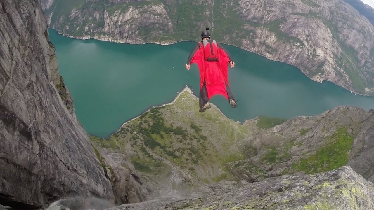 Norway BASE Jumping Kjerag Heliboogie YouTube - 7 most extreme base jumping destinations in the world