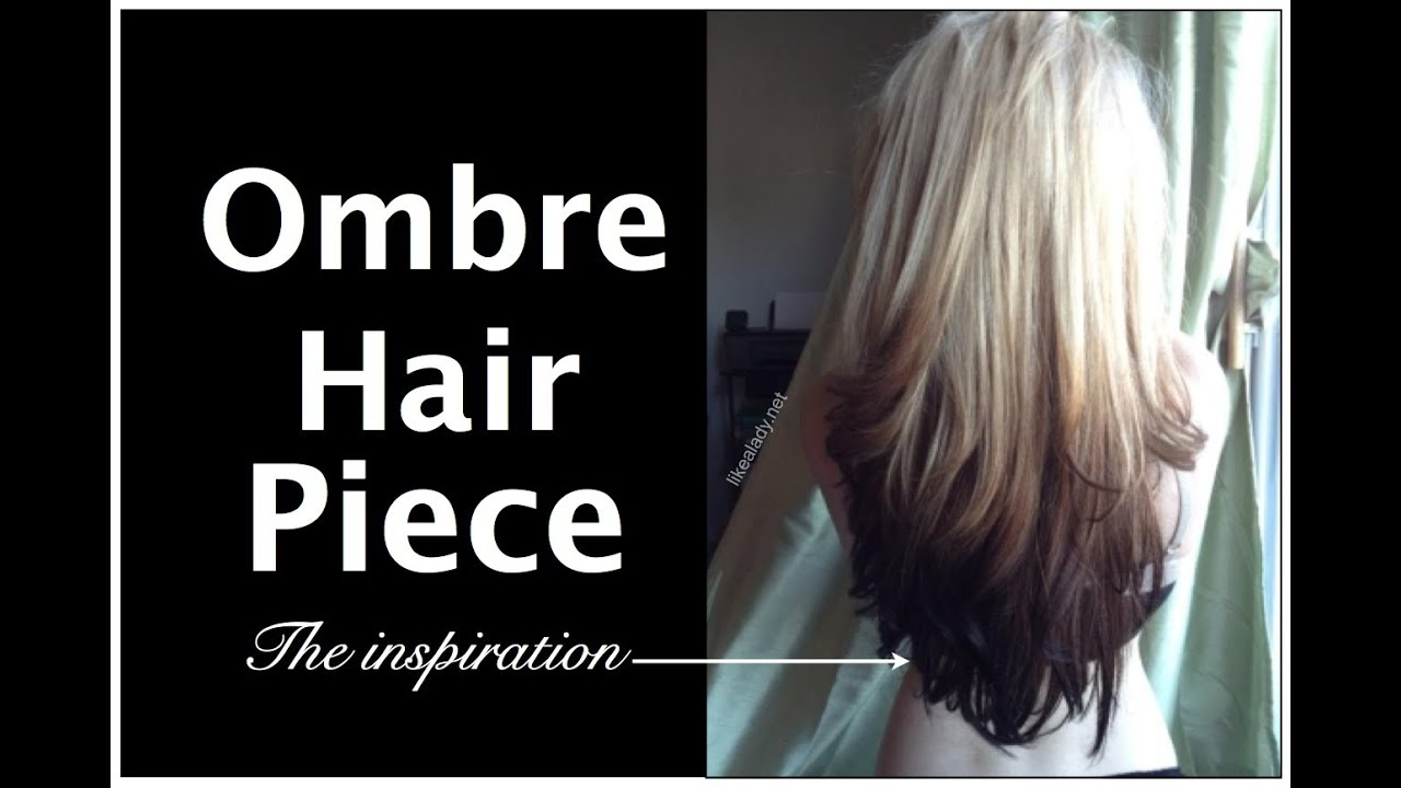 Ombre Hair Extensions For Bald Spots Youtube