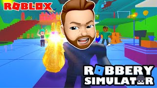 ROBLOX: i got caught by the cops, i should habe ran!!! robbery simulator