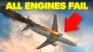 What To Actually Do If All Plane Engines Fail At The Same Time