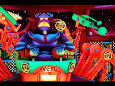 Buzz Lightyear Space Ranger Spin Complete Experience HD Magic Kingdom Walt Disney World