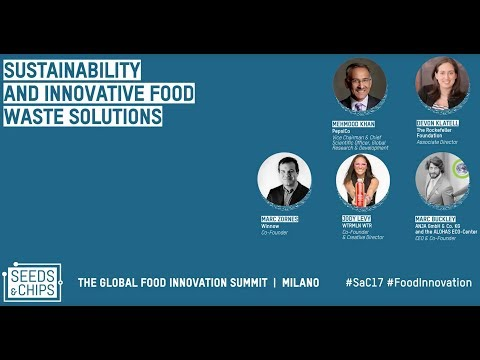Marc Buckley Sustainability and innovative food waste solutions #Sac17