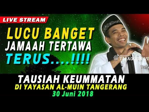 CERAMAH TERLUCU Jamaah Sampai Ngakak Di Tangerang | Ustad Abdul Somad, Lc., MA