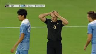 Men's Soccer UNC vs UCF 08-30-2019