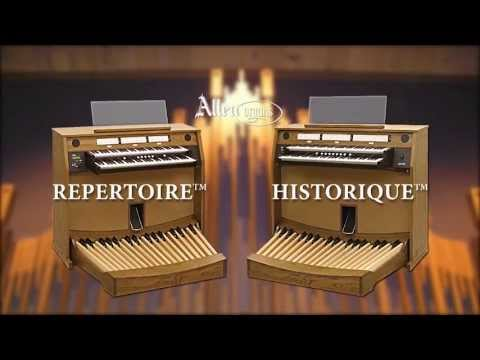 Allen Organ REPERTOIRE™ and HISTORIQUE™