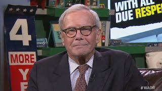 "Why Tom Brokaw Won't ""Go There"" on Brian Williams"