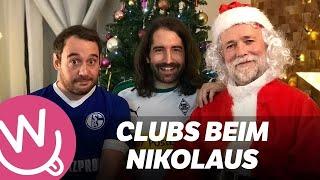 Bundesliga-Clubs beim Nikolaus