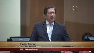 César Rohon - Sesión 556 - #NoPescaIlegal